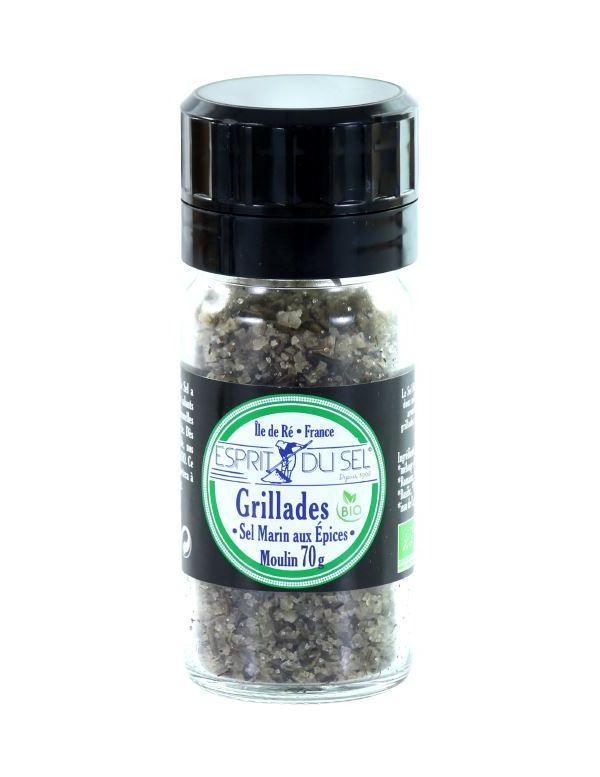 Sel Marin aux Herbes de Provence spécial Grillades