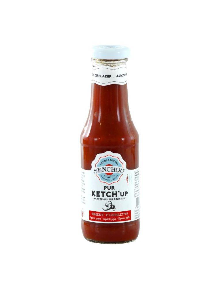 Sauce Pur Ketch'up au Piment d'Espelette