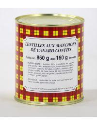 Lentilles-canard