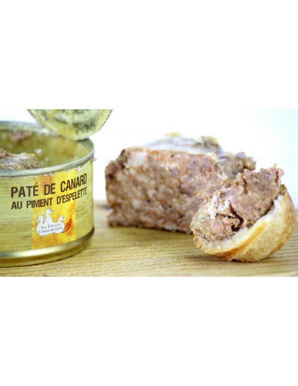 Paté-de-canard-aux piments-d'espelette