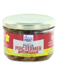 Pâté de Porc fermier Label Rouge - Henri Piquet