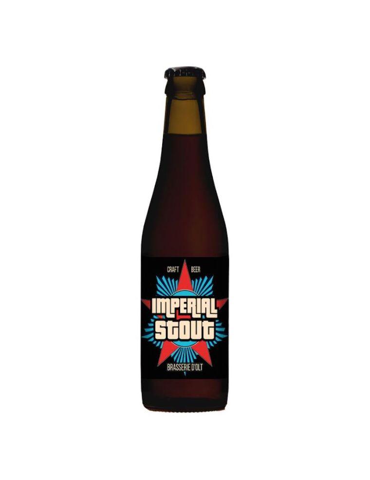 Bière Noire Bio Imperial Stout - Brasserie d'Olt