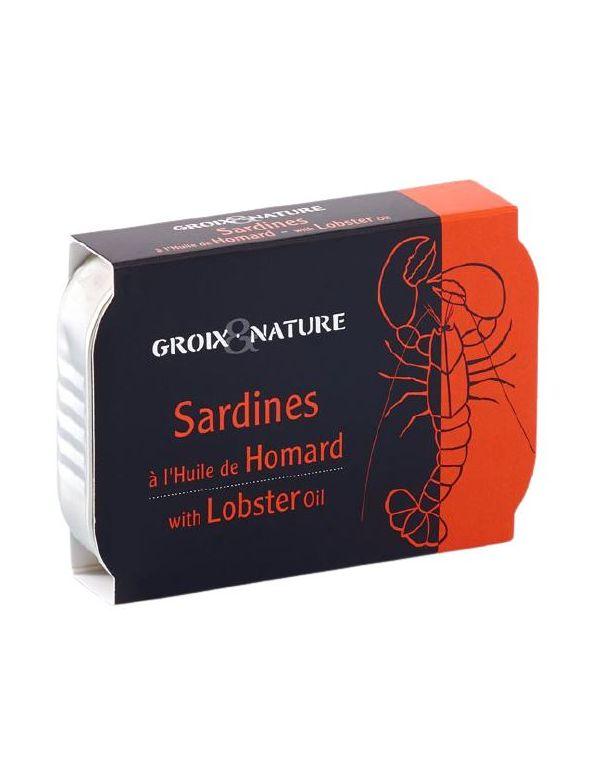 Sardines à l'huile de homard - Groix & Nature