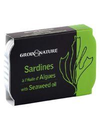 Sardines à l'huile d'algues - Groix & Nature