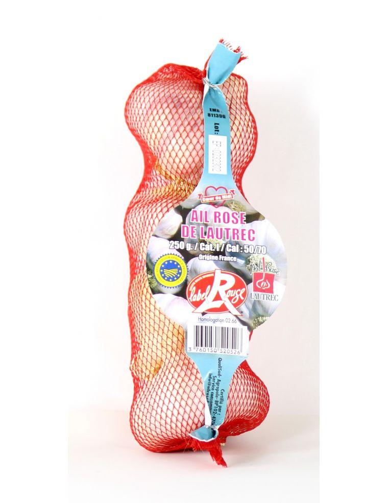 Ail rose de Lautrec, filet de 250 g, igp label rouge