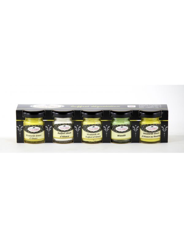 Coffret dégustation condiments de l'Oncle Hansi