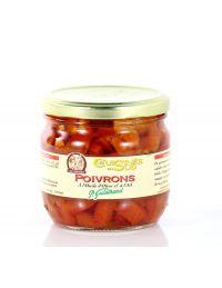 Poivrons à l'huile d'olive et à l'ail, conserve de 330 g