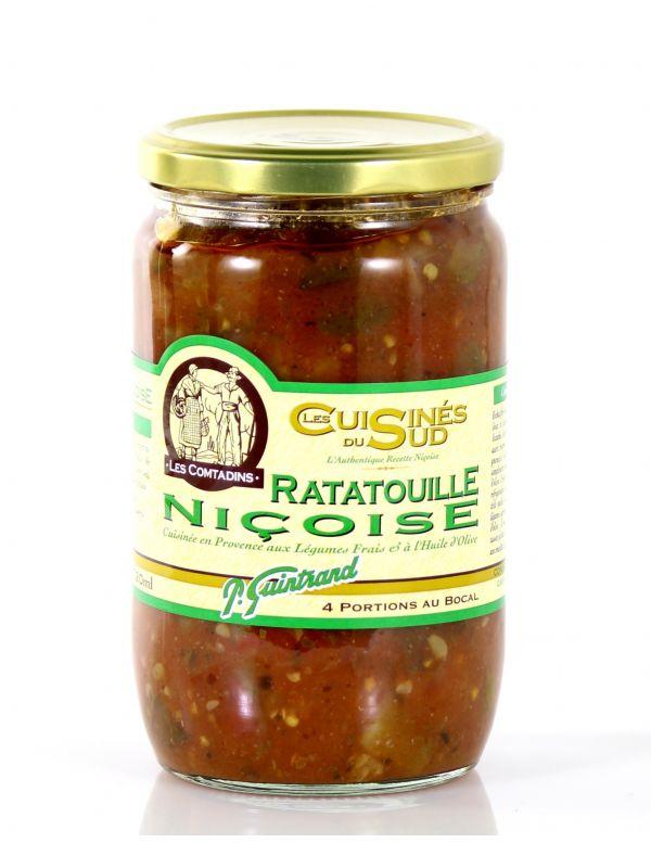 Ratatouille nicoise, bocal de 650 g