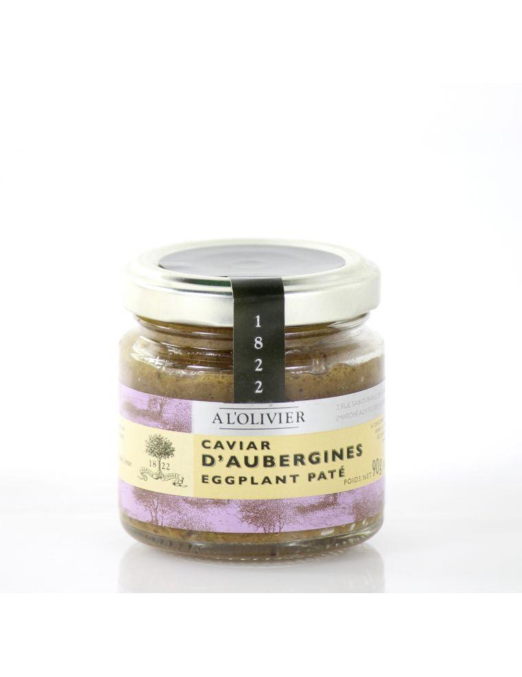 vente en ligne caviar d 39 aubergines du lub ron pot de 90 g a l 39 olivier. Black Bedroom Furniture Sets. Home Design Ideas