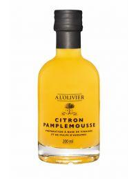Vinaigre à la pulpe de citron et au pamplemousse, bouteille de 200 ml