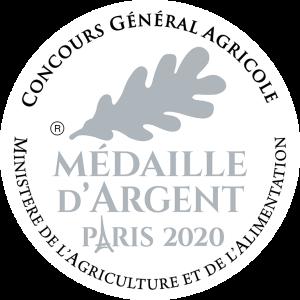 médaille d'argent Paris 2020 pour bière blonde bio ratz