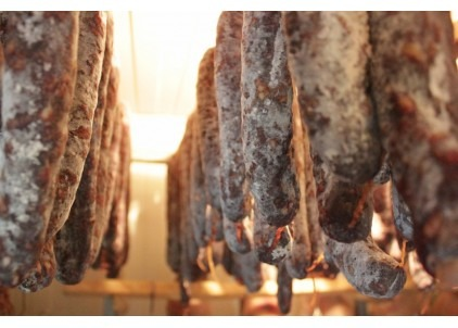 saucisson porc noir gascon