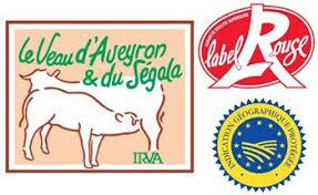 label veau de l'Aveyron et du Ségala