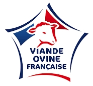 logo viande ovine francaise pour roti d'agneau