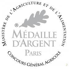 logo medaille d'argent saucisson cendre