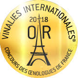 medaille d'or vinalies paris 2018
